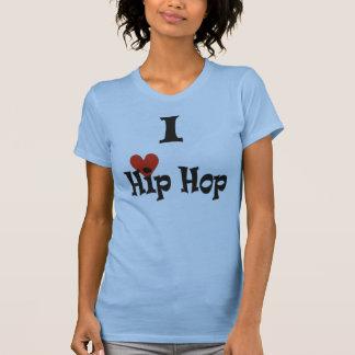 Eu amo Hip Hop Camisetas