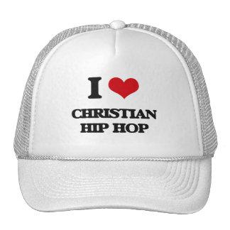 Eu amo HIP HOP CRISTÃO Boné