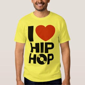 Eu amo Hip Hop T-shirts