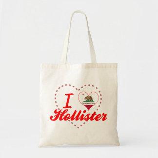 Eu amo Hollister Califórnia Bolsas