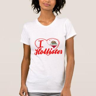 Eu amo Hollister, Califórnia T-shirts
