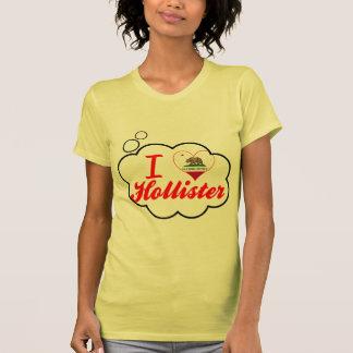 Eu amo Hollister, Califórnia Camisetas