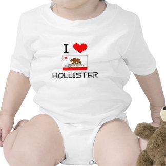 Eu amo HOLLISTER Califórnia Macacãozinho Para Bebês