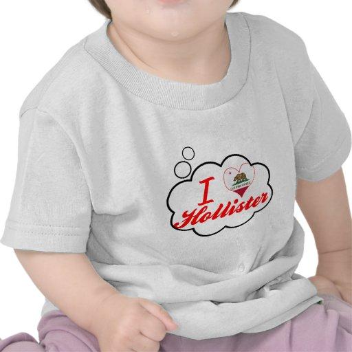 Eu amo Hollister, Califórnia T-shirt