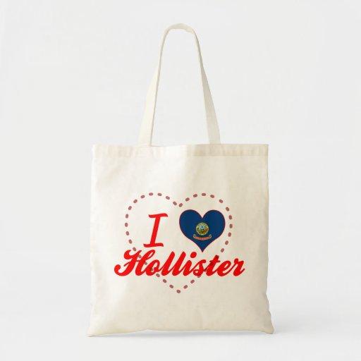 Eu amo Hollister, Idaho Bolsa Para Compras