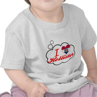 Eu amo Hollister, Missouri Camiseta