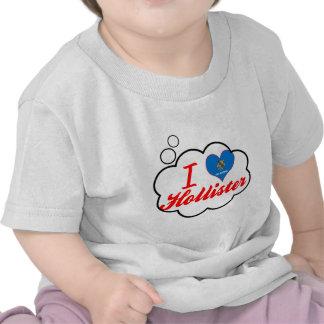 Eu amo Hollister, Oklahoma Camisetas