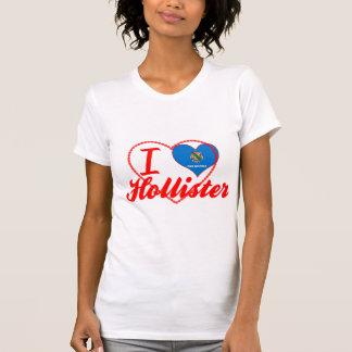 Eu amo Hollister, Oklahoma T-shirt