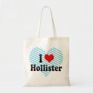 Eu amo Hollister os Estados Unidos Bolsa De Lona