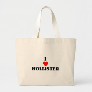 Eu amo Hollister Sacola Tote Jumbo