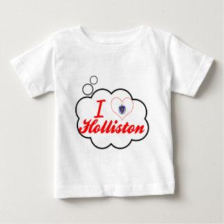 Eu amo Holliston, Massachusetts Tshirts