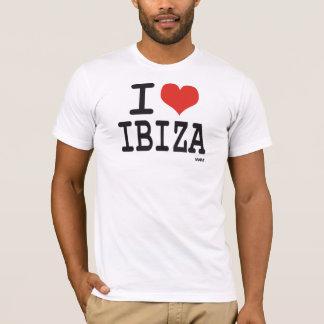 Eu amo Ibiza Camiseta