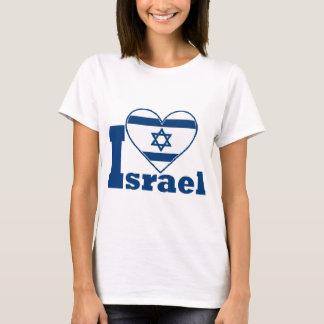 Eu amo Israel Camiseta