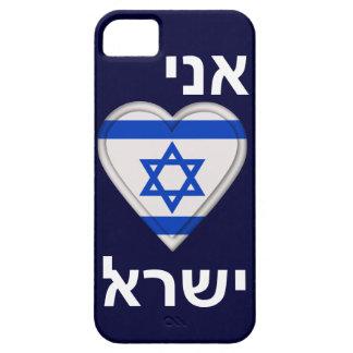 Eu amo Israel no hebraico Capa Barely There Para iPhone 5