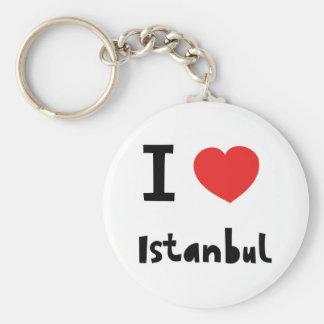 Eu amo Istambul Chaveiro