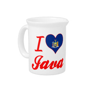 Eu amo Java, New York Jarro Para Bebida