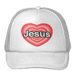 Eu amo Jesus. Eu te amo Jesus. Coração Bones