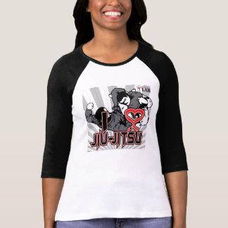 Eu amo Jiu-Jitsu Camiseta