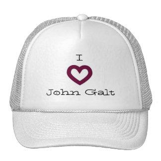 Eu amo John Galt Boné