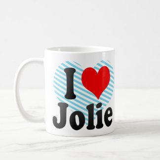 Eu amo Jolie Caneca