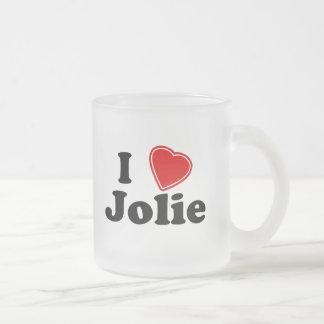 Eu amo Jolie Canecas