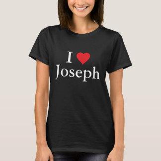 Eu amo Joseph Camiseta