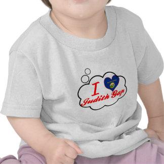 Eu amo Judith Gap Montana Camisetas