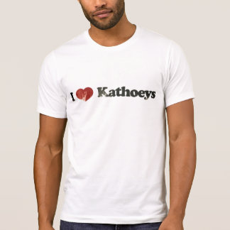 Eu amo Kathoeys Camiseta