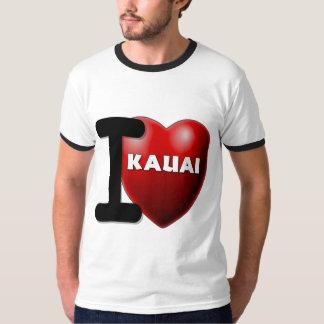 Eu amo Kauai, Havaí T-shirts