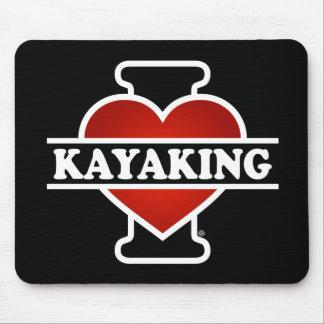 Eu amo Kayaking Mouse Pad