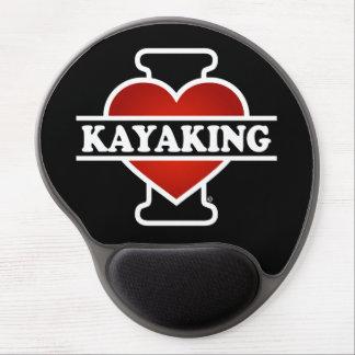 Eu amo Kayaking Mouse Pad De Gel