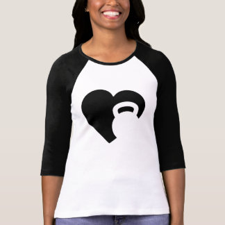 Eu amo Kettlebell Camiseta