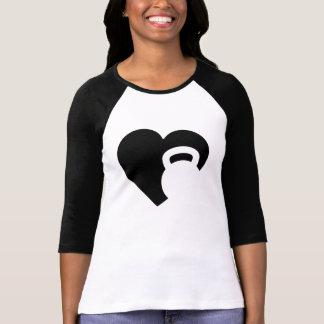 Eu amo Kettlebell T-shirts