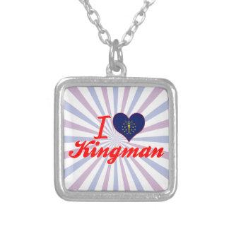 Eu amo Kingman Indiana Bijuteria