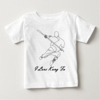Eu amo Kung Fu Camiseta