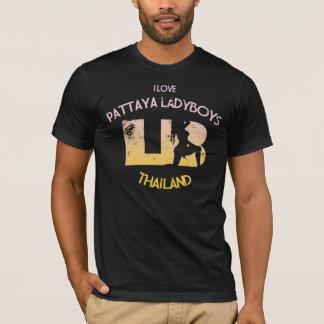 Eu amo Ladyboys de Pattaya Camiseta