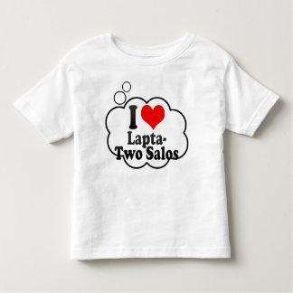 Eu amo Lapta- dois Salos Tshirt