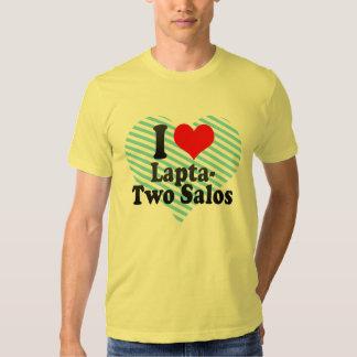 Eu amo Lapta- dois Salos T-shirts