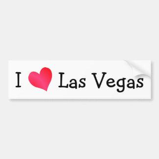 Eu amo Las Vegas Adesivo Para Carro