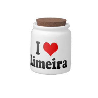 Eu amo Limeira Brasil Eu Amo O Limeira Brasil Pote De Doce