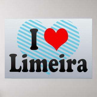 Eu amo Limeira Brasil Eu Amo O Limeira Brasil Impressão