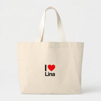 eu amo Lina Bolsa Para Compra