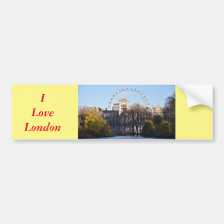 Eu amo Londres! Adesivo Para Carro