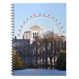 Eu amo Londres! Caderno