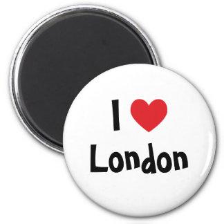 Eu amo Londres Ima De Geladeira