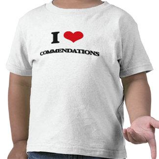 Eu amo louvores tshirt