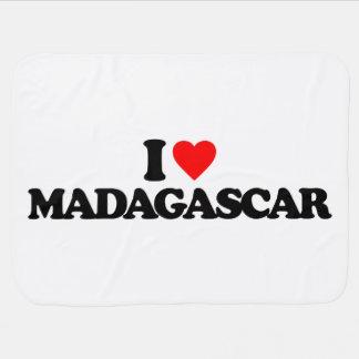 EU AMO MADAGASCAR MANTAS DE BEBE