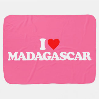 EU AMO MADAGASCAR MANTAS PARA BEBE
