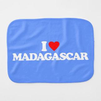 EU AMO MADAGASCAR PANINHO PARA BEBÊS