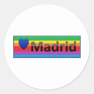 Eu amo Madrid Adesivo